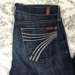 7 For All Mankind Dojo Jeans sz 27 x 31